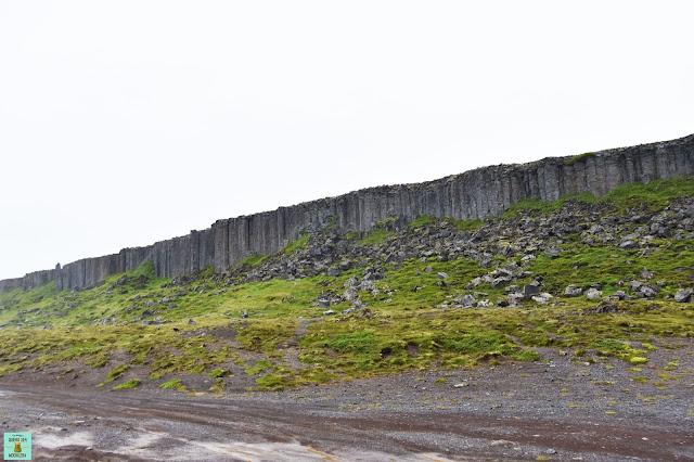 Gerduberg en Snaefellsnes, Islandia