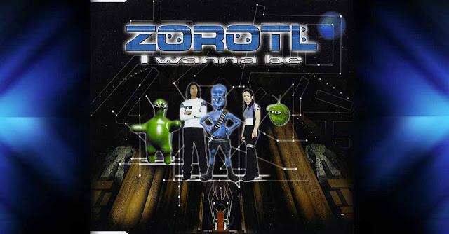 Copertina di ''I wanna be'' di Zorotl (l'alieno degli Eiffel 65)