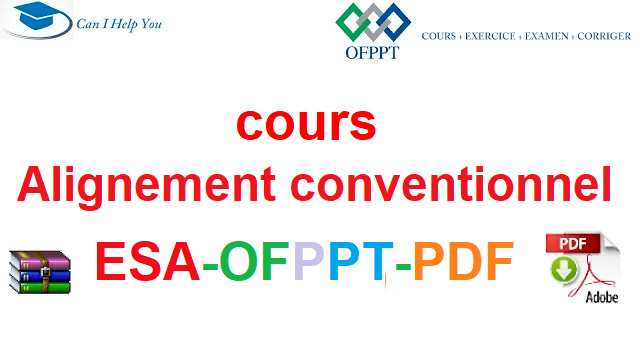 Alignement conventionnel Électromécanique des Systèmes Automatisées-ESA-OFPPT-PDF