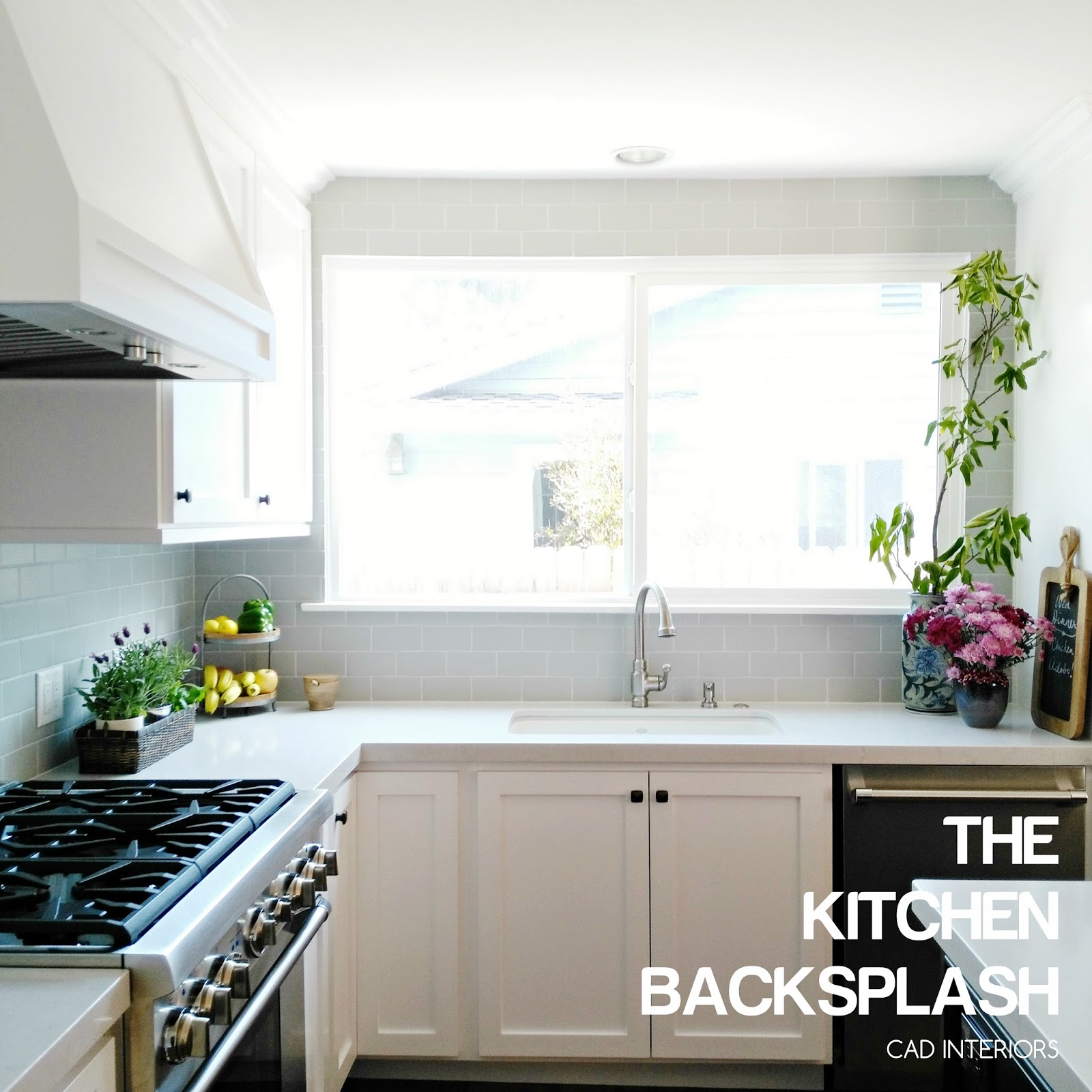 Diy Kitchen Tile Backsplash Cad Interiors Affordable Stylish Interiors