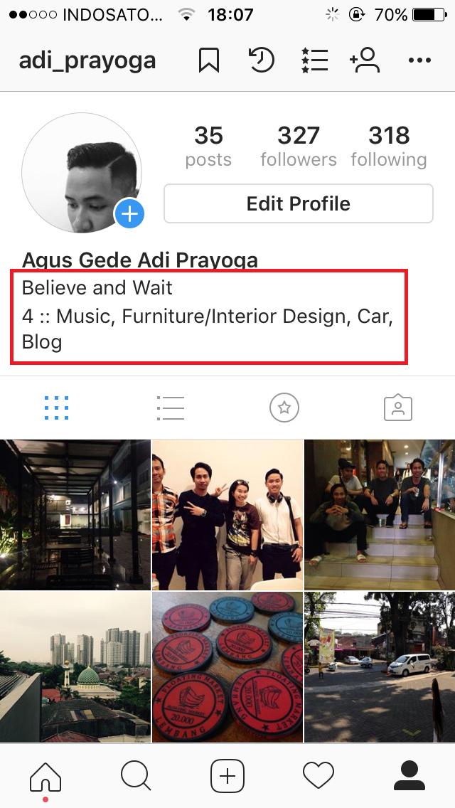 Cara Membuat Enter Atau Line Break Pada Bio Instagram