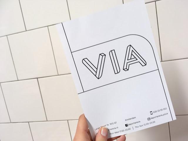"""An image of the """"Da Portare Via"""" menu"""