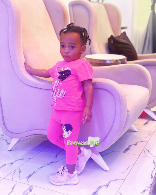 Check Out Cute Photos Of Actress Ruth Kadiri's Daughter As She Turns One