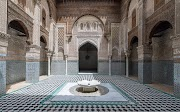 Al-Attarin School in the Historical Fez… A Picture of an Ancient Civilization That Combines Science and Beauty