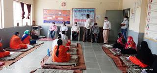 विश्व मानसिक स्वास्थ्य दिवस के अवसर पर जिला विधिक सेवा प्राधिकरण द्वारा शिविर का हुआ आयोजन