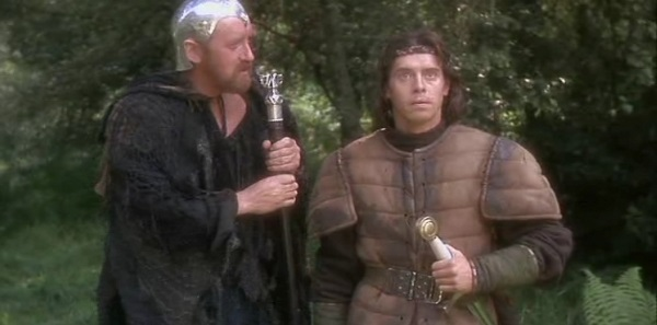 Merlín y Arturo