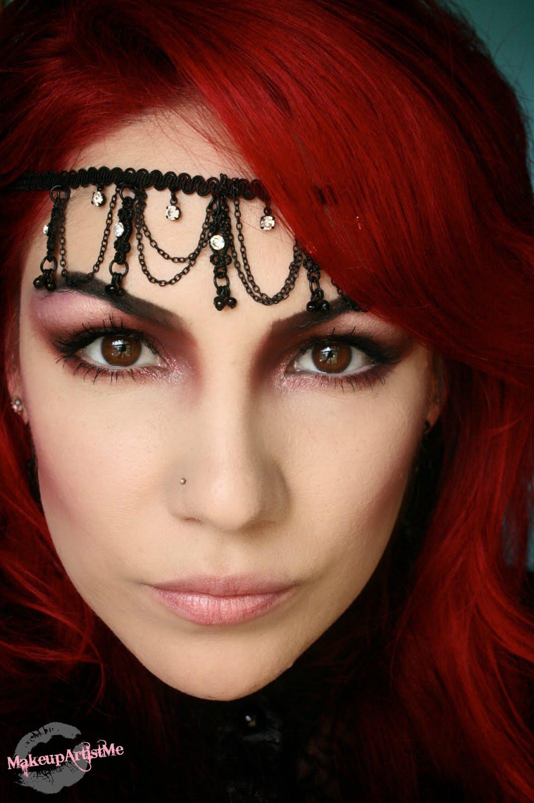 Makeup Artist Youtube: Make-up Artist Me!: Mauve Queen Makeup Look Tutorial