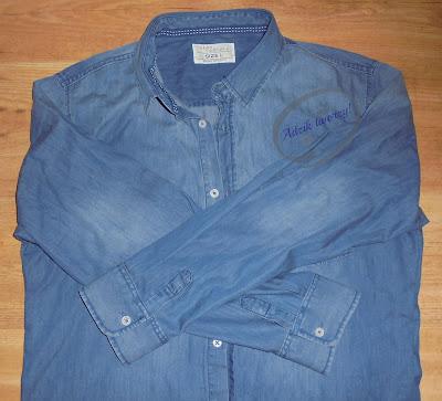 Adzik tworzy - skracanie rękawów koszuli DIY