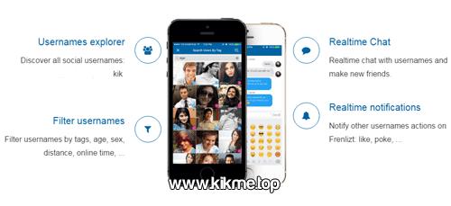 Encuentra amor y amistad en la nueva app Frenlizt for Kik