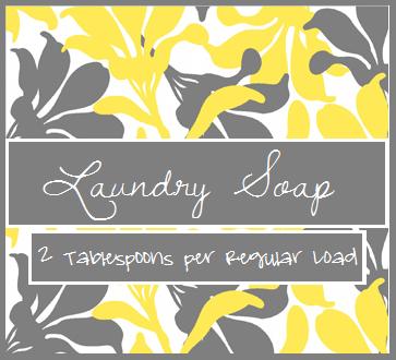 Katie J Gibson Homemade Laundry Detergent Tutorial