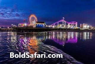 Santa Monica Pier, Calfornia