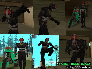 Download Game GTA San Andreas+Versi Kamen Rider MOD