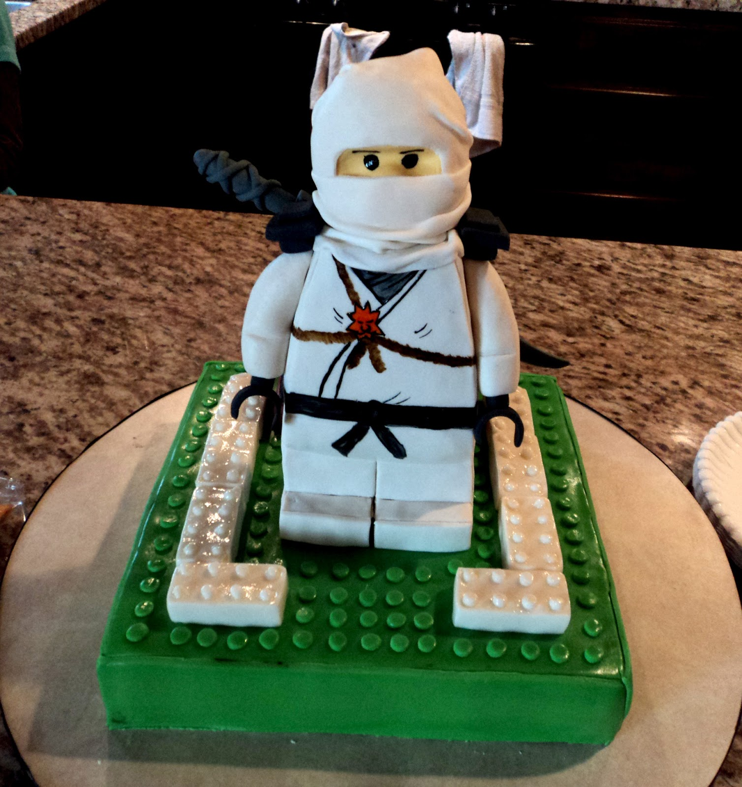 Delectable Cakes Lego Ninjago Birthday Cake