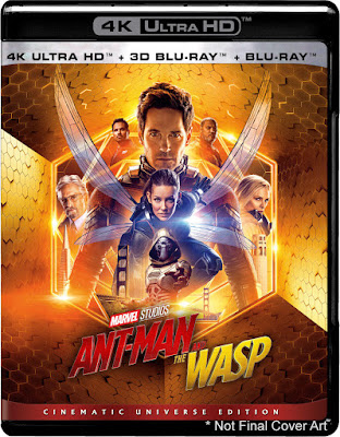 Ant-Man and the Wasp 2018 Daul Audio [ORG DTH] 720p BRRip 600Mb HEVC x265