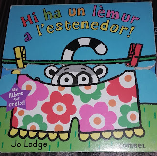 ¡Hay un lémur en el tendedero! - Literatura infantil