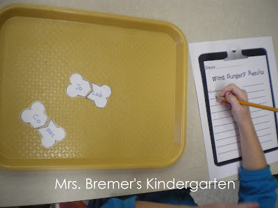 Literacy centers for Kindergarten