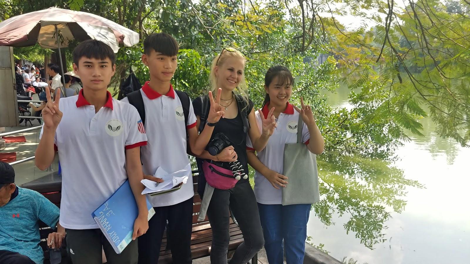 Hanoi okolice Hoan Kiem