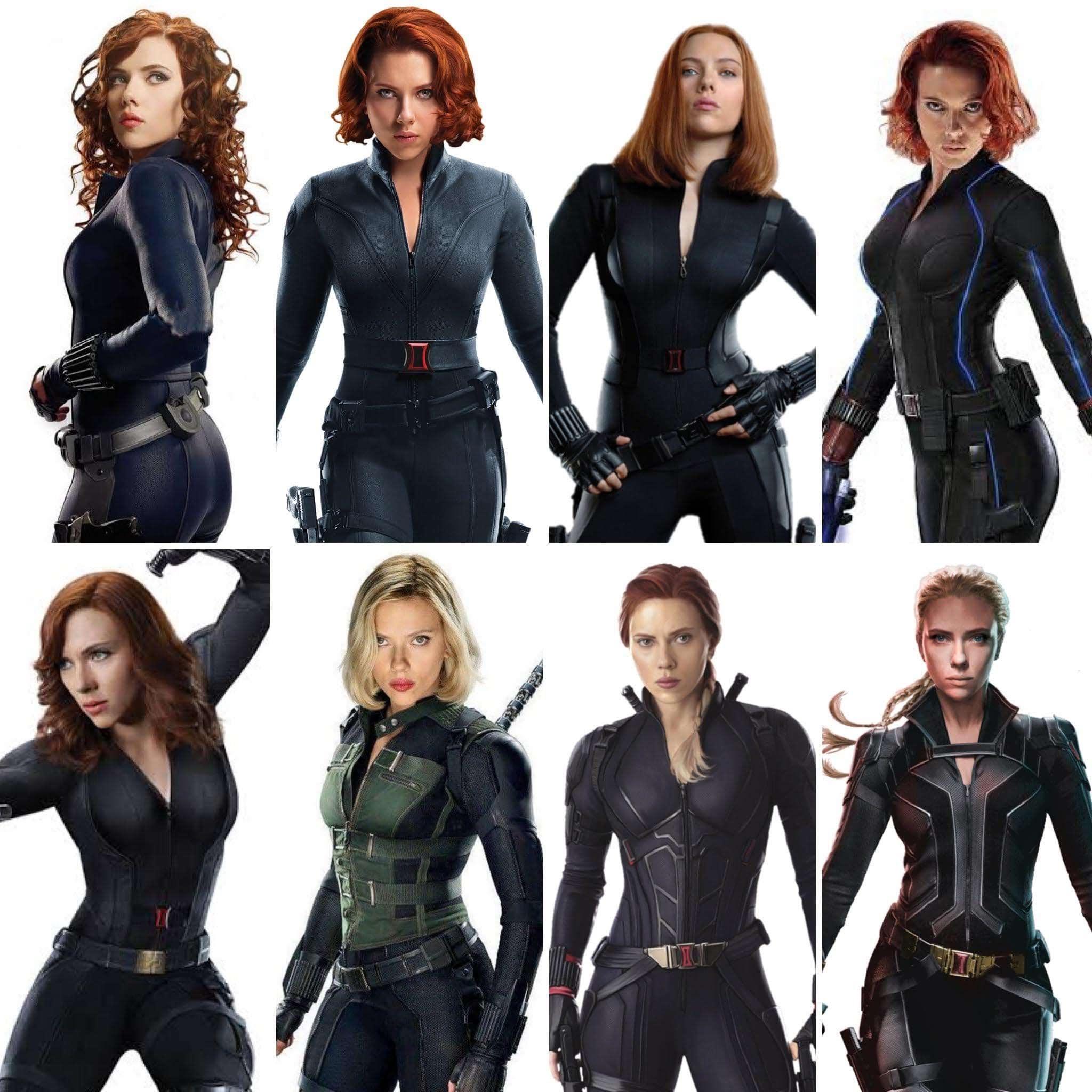 Which Black Widow were your favorite ? : あんなナターシャに、こんなナターシャ、どのナターシャのブラック・ウィドウが、あなたのお気に入り ? !