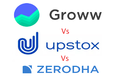groww charges vs upstox charges vs zerodha charges