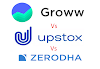 Groww vs upstox vs zerodha charges comparison 2020 - Real and honest review