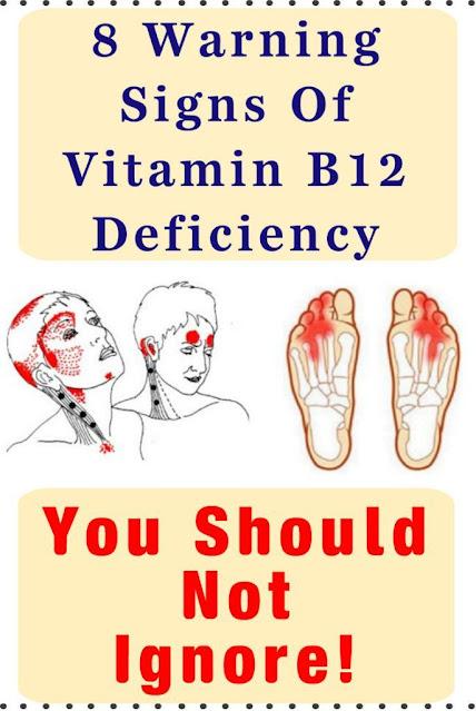8 Warning Signs Of Vitamin B12 Deficiency