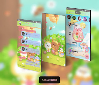 Teddy Bears Theme For YOWhatsApp & Fouad WhatsApp By Ale