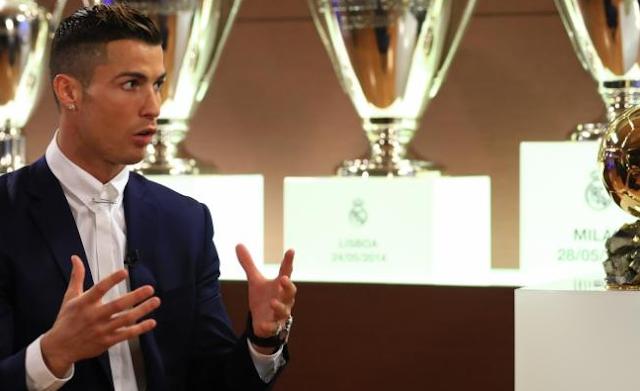 Klasemen  Ballon d'Or 2016 dimana pada tahun ini Ballon d'Or 2016 di raih Oleh Cristano Ronaldo