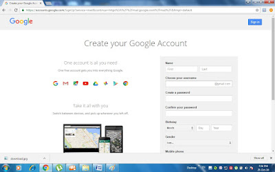 Gmail Account in simple way