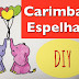 Carimbada Espelhada, como fazer? (Mirror Stamping, how to?) - DIY - VIDEO
