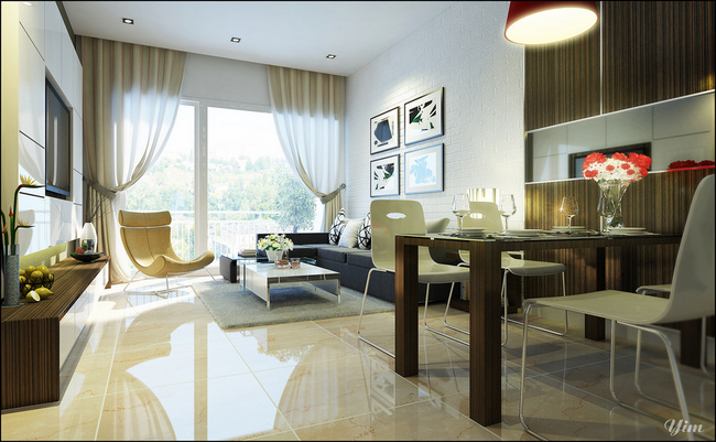 How to arrange furniture in a living room dining room - Living dining room furniture arrangement ...