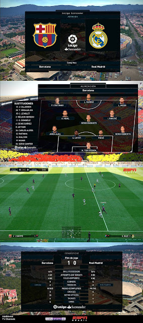 PES 2019 Scoreboard LaLiga 2019 by Arthur Torres
