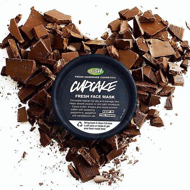 Masque frais chocolat Lush Cupcake
