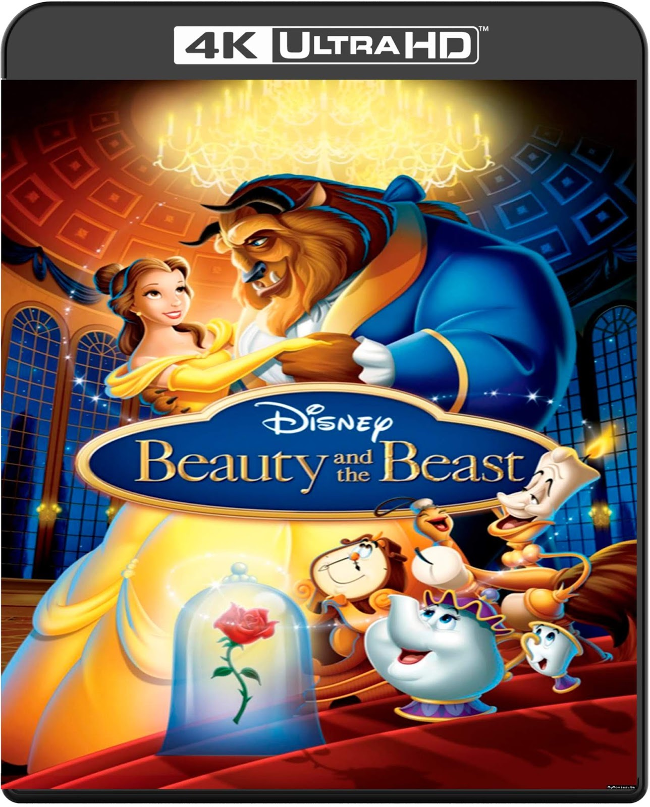 Beauty and the Beast [1991] [UHD] [2160p] [Latino]