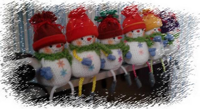 #веселые_снеговики