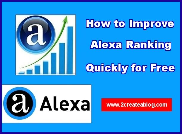 How to Improve Alexa Ranking Quickly for free