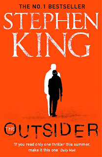 The Outsider by Stephen King book cover