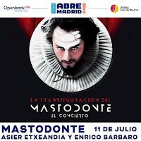 Concierto de Mastodonte en IFEMA