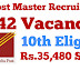 TAMILNADU POSTAL Recruitment - 4442 Vacancies - 10th eligible - Rs.35,480 Salary