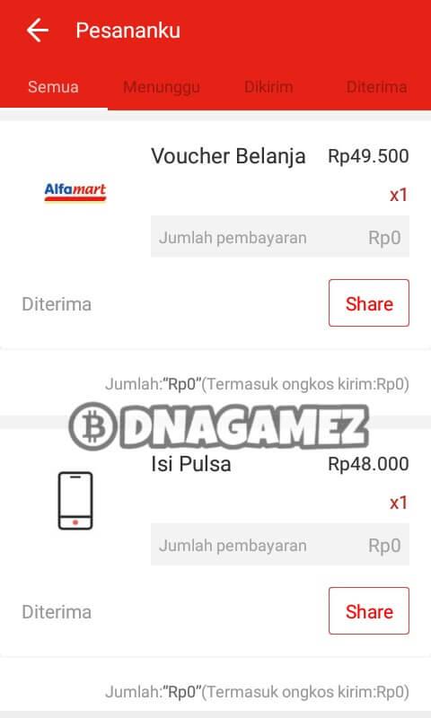 Berikut ini adalah screenshoot bukti Withdraw / Pembayaran dari aplikasi Akulaku: