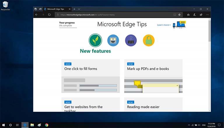 Windows 10 Edge Tetap Menjadi Peramban Internet Terbaik Dalam Hal Efisiensi Daya