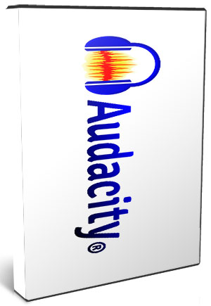 Audacity 2.4.1 RC1 poster box cover