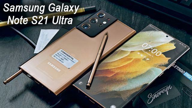 SAMSUNG Galaxy Note S21 Ultra 5G - Quick Overview