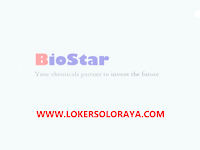 Loker Sales Marketing di BioStar Solo