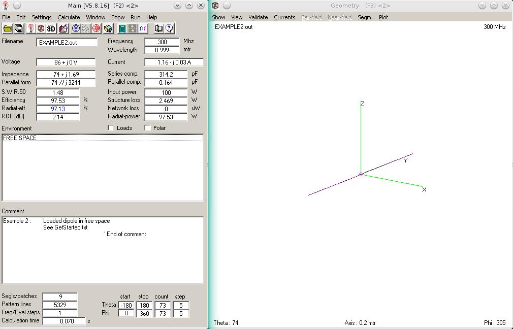 Antenna Handbook : Antenna Modeler and Optimizer using 4nec2