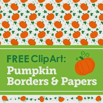 FREE Pumpkin Borders and Papers