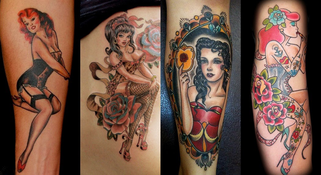 Bekend Pop Culture And Fashion Magic: Pin up girls and pin up tattoos – a @HP63
