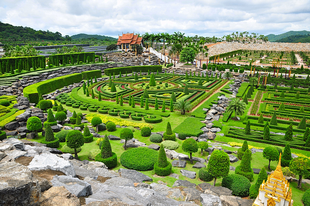... Nong Nooch Tropical Botanical Garden is the center garden. This garden is best viewed from the elevated platform specially built to admire the beauty of ...