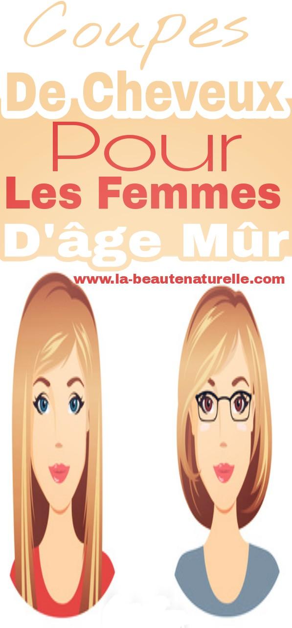 Coupes de cheveux pour les femmes d'âge mûr