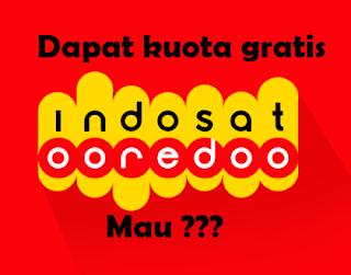 Cara claim dan mendapatkan bonus kuota internet gratis dari indosat
