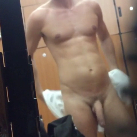 boner in locker room